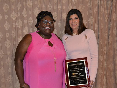 Christiana Foglio Receives Real Estate Humanitarian Award from American Conference on Diversity