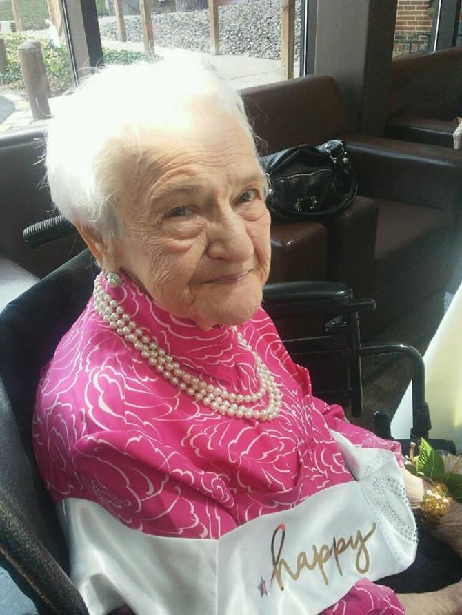 Happy 100th Birthday Marie!