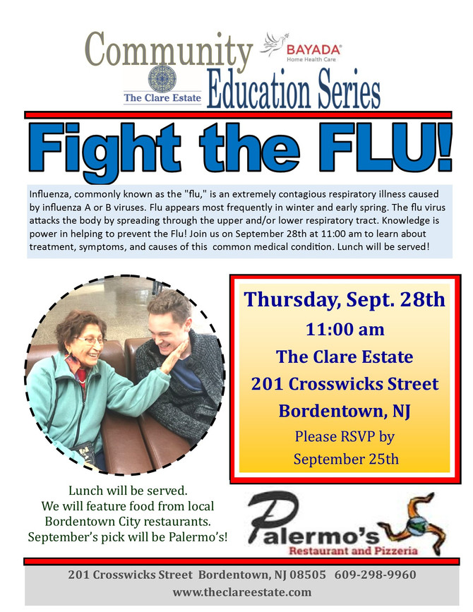 Community Education Series: Fighting the Flu!