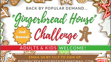 "Vote for The Clare Estate in the ""Gingerbread House"" Challenge!"