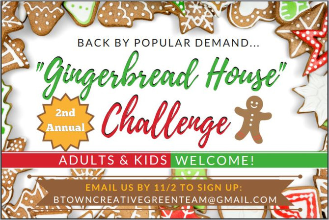 """Vote for The Clare Estate in the """"Gingerbread House"""" Challenge!"""