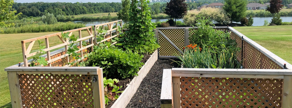 Custom Raised Bed Garden