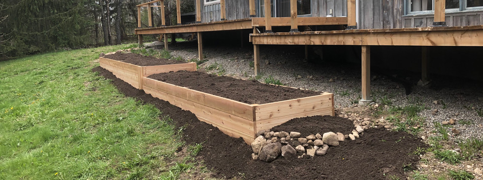 Custom Raised Bed