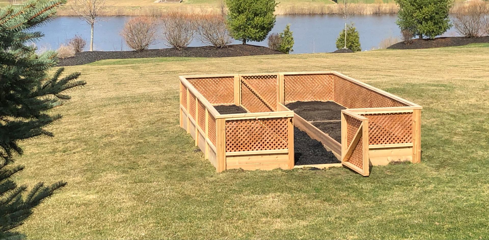 Custom Raised Bed Garden