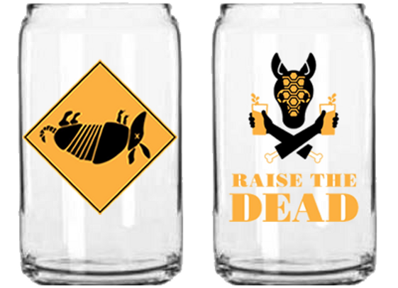 Can Pint Glass