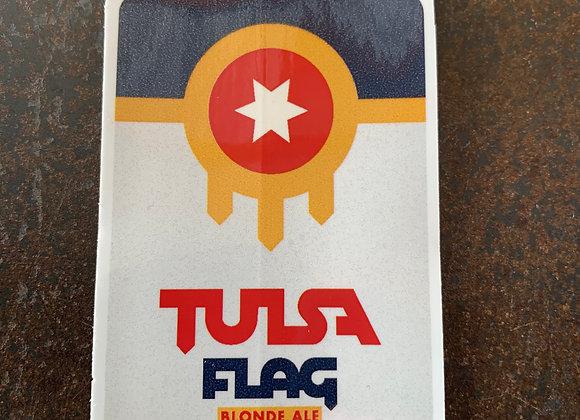 Tulsa Flag - Sticker