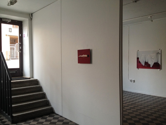 Love is a working title in B-Gallery, Turku, Finland