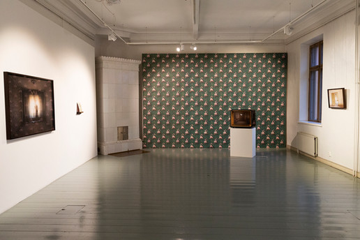 Installation view from my solo show Such is the Silence