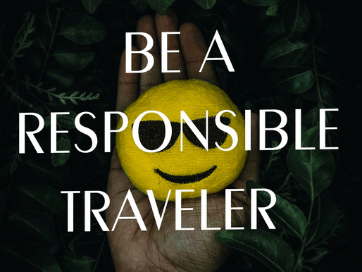 Be a responsible Traveler in 2020