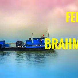 Ferry ride across Brahmaputra river | Assam Tourism |