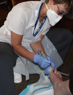 foot care education