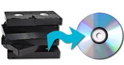 Convert VHS tapes to DVD!