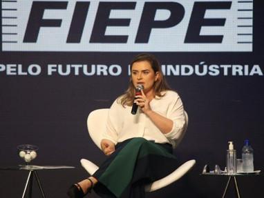 """Marília na FIEPE: """"Vamos ampliar o diálogo com quem gera empregos"""""""