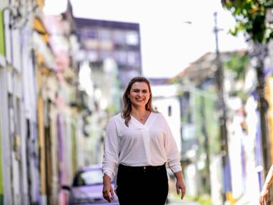 Marília Arraes oficializa candidatura à Prefeitura do Recife pelo PT