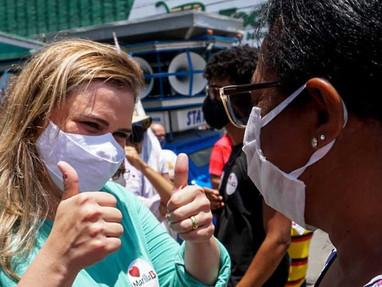 Novidade da campanha, Marília (PT) estreia programa para discutir cenário político nas redes sociais