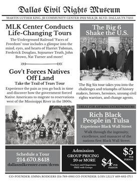 Dallas Civil Rights Museum Souvenir Promo