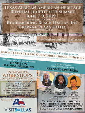 Informational Poster for Texas African American Juneteenth SummitH Poster.jpg