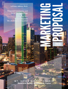 Marketing Proposal for Mt. Horeb Baptist Church, Dallas