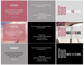 Ministry Tract