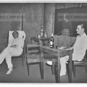Ruggero Ruggeri and Tino Erler on set, 1934.