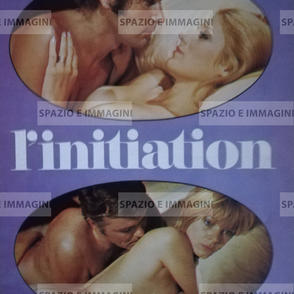 L'INITIATION, directed by Denis Heroux, ( FR); 1970. Film brochure ( pp. 12) cm. 21,5x28 ( closed) cm. 43x28 ( open).