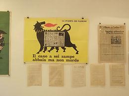 La Stampa del Padrone, 1968, Gal, Il Resto del Carlino- Falso del Male,Volantini studenteschi Bologna '68-'77
