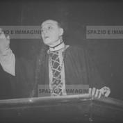 Ruggero Ruggeri on set , 1950.