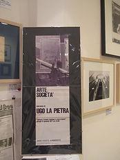 Ugo La Pietra- Abitare è esere ovunque a casa propria, Arte e Società, Ugo La Pietra's original vintage poster.