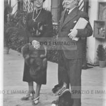 Ruggero Ruggeri and wife Germaine Darcy, 30s.