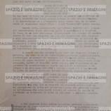 L'ASSENBLEA DEGLI STUDENTI DELLE ALDINI RIUNITASI IL 7-11-1972 APPROVA ALL'UNANIMITA' IL SEGUENTE O.D.G (...). Volantino ciclostilato cm. 22x33 a cura dell'Assemblea Generale degli Studenti  dell'ITIAV. C.I.P., via Barberia 4, s.l. ma Bologna, 7-11-1972.