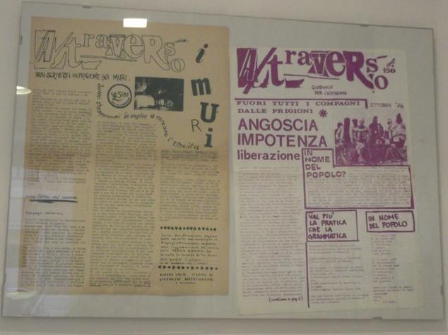Exhibition Prima di Scomparire, Grafica, Immagini, Ephemera '60-'70, 2018
