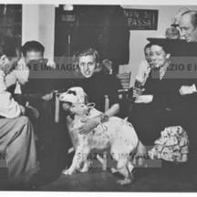 Ruggero Ruggeri and Anna Magnani, 1940.
