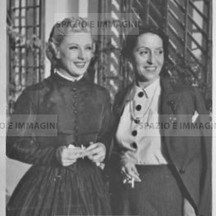 Germaine Darcy and actress, 30s- 40s.