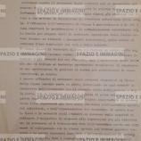 ANCORA UN GRAVE FATTO REPRESSIVO NELLE SCUOLE IERI LA POLIZIA E' INTERVENUTA ALL'INTERNO DEL MARCONI FERMANDO DUE STUDENTI CHE STAVANO PROTESTANDO CONTRO L'USO POLITICO DEI VOTI (...). OGGI MOBILITAZIONE IN TUTTE LE SCUOLE- COLLETTIVI E ASSEMBLEE (...). Volantino ciclostilato cm. 22x33 a cura di Collettivo Studenti Medi FGCI. C.I.P. 11-1-1972, s.l. ma Bologna.