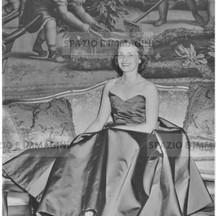 Valerie Eliot, T. S. Eliot wife, London, 1953.