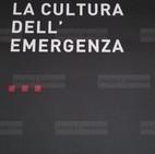 Alfredo Jaar, La cultura dell'emergenza, 2008. Manifesto 100x70. Offset print on paper.