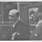 Ruggero Ruggeri and Silvio D'Amico (?), 30s.