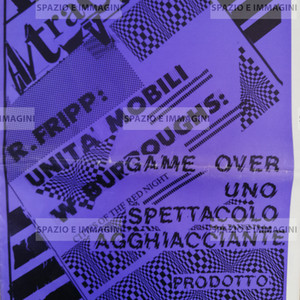 A/ traverso, estate 1981. Foglio Creativo,  printed in serigraphy,  cm. 50x 37, pp.10.
