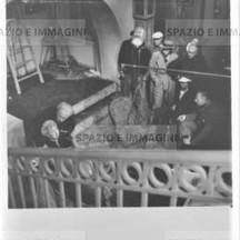 Ruggero Ruggeri and director Jean De Limour, 1939.