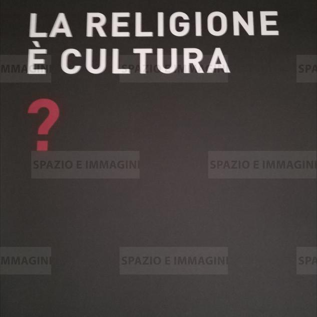 Alfredo Jaar, La religione è cultura?, 2008. Manifesto cm. 100x70. Offset print on pape.r