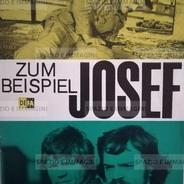 ZUM BEISPIEL JOSEF, directed by Erwin Stranka, (DDR), 1974. Film Brochure ( pp. 6) cm. 21x30 (closed) cm. 42x60 (open).
