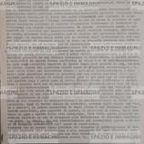 COSTRUIRE CLASSE PER CLASSE UN MOVIMENTO ORGANIZZATO, ARTICOLATO E DI MASSA (...), MOVIMENTO CHE PONGA AL CENTRO DELLA LOTTA LA RIFORMA DELL'ISTRUZIONE (...). Volantino ciclostilato cm. 22x33 a cura di Coll. F.G.C.I. Minghetti, 12 ottobre 1972. C.I.P. e s.l. ma Bologna.