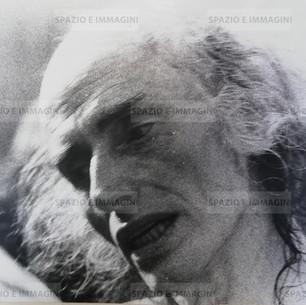 Julian Beck, Living Theatre, Bologna 77. Original vintage print. Gelatin silver print on baryta paper cm. 18x24. Unknown photographer.