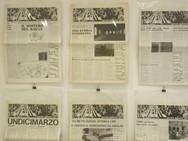 Exhibition Prima di Scomparire. Grafica, Immagini, Ephemera '60-'70, 2018