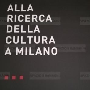 Alfredo Jaar, Alla ricerca della cultura a Milano, 2008. Manifesto cm. 100x70. Offset print on paper.