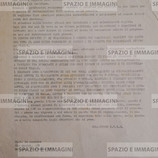 STUDENTI OGGI GLI INSEGNANT I DELL'ITIS CHE HANNO ADERITO ALLO SCIOPERO FANNO UN'ASSEMBLEA DENTRO LA SCUOLA (...), identificare gli insegnanti che si schierano con le direttive Scalfaro, compito di smascherare i professori reazionari. Volantino ciclostilato cm. 22x33 a cura del Collettivo Itis . C.I.P., via Quadri 5/b, Bologna, 14 ottobre 1972.