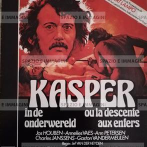 KASPER IN DE ONDERWERELD/ KASPER OU LA DESCENTE AUX ENFERS, directed by Jef Van Der Heyden, (BE), 1979. Film brochure (pp. 8) cm. 23x28 ( closed).