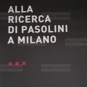 Alfredo Jaar, Alla ricerca di Pasolini, 2008. Manifesto cm. 100x70. Offset print on paper.