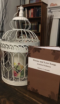 Poems and Love Songs - Book Cover