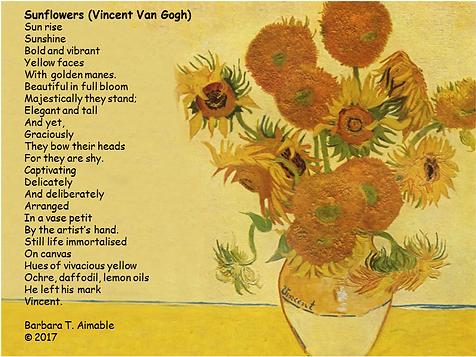 Sunflowers Poems